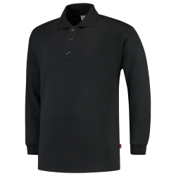 POLOSWEATER TRICORP PS280 301004 ZWART